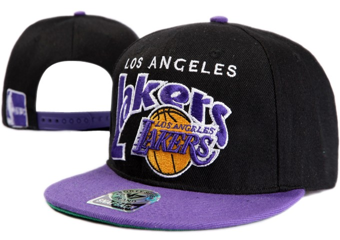 Los Angeles Lakers NBA Snapback Hat XDF008